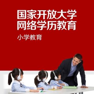 2019秋小学教育(高起专)